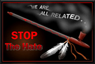 Join Stop The Hate - visit the page for details.